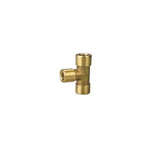Brass Tee Pneumatic Fitting