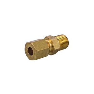 Brass Fitting Male Plug with Air Vent