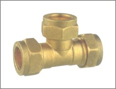 Brass Plumbing Fitting Tee Connector